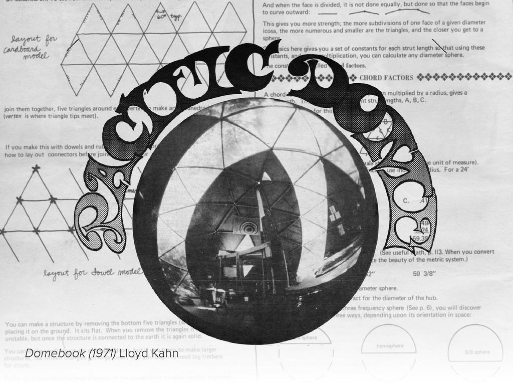 Domebook (1971) Lloyd Kahn
