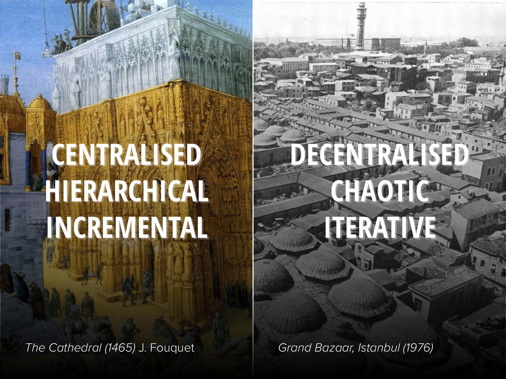CENTRALISED HIERARCHICAL INCREMENTAL DECENTRALI...