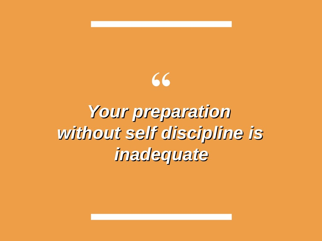 """ Your preparation Your preparation without sel..."