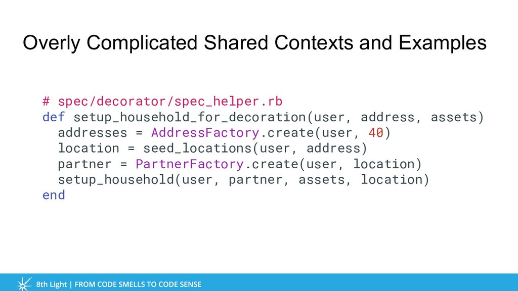 Overly Complicated Shared Contexts and Examples...