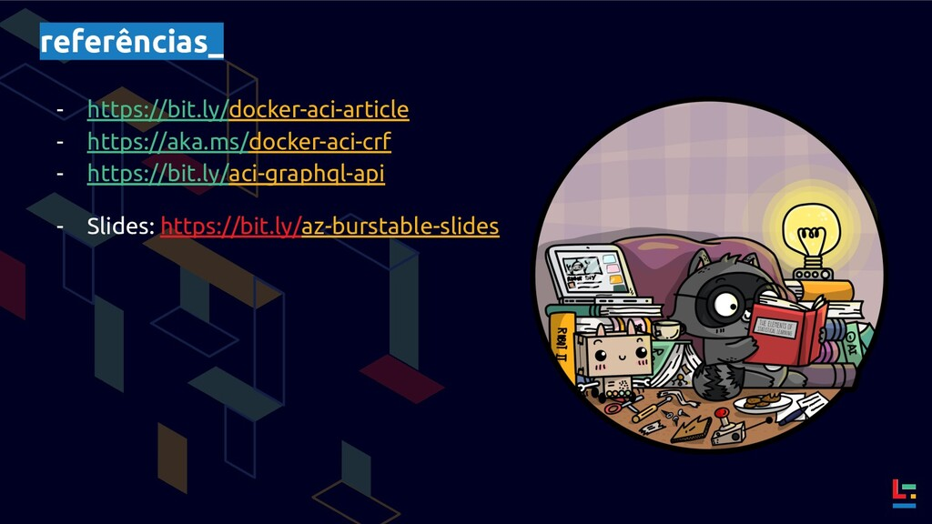 referências_ - https://bit.ly/docker-aci-articl...