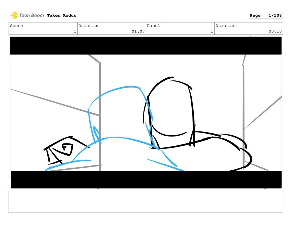 Scene 1 Duration 01:07 Panel 1 Duration 00:10 T...