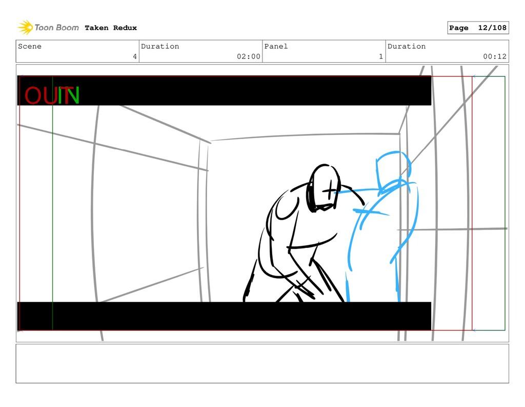 Scene 4 Duration 02:00 Panel 1 Duration 00:12 T...