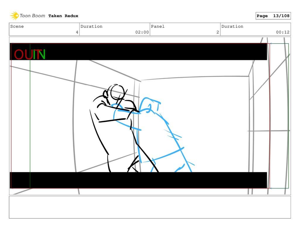 Scene 4 Duration 02:00 Panel 2 Duration 00:12 T...