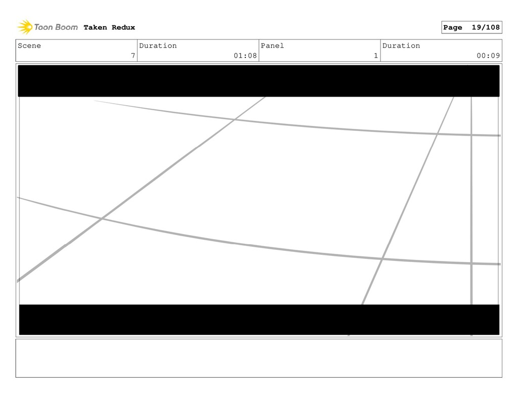 Scene 7 Duration 01:08 Panel 1 Duration 00:09 T...