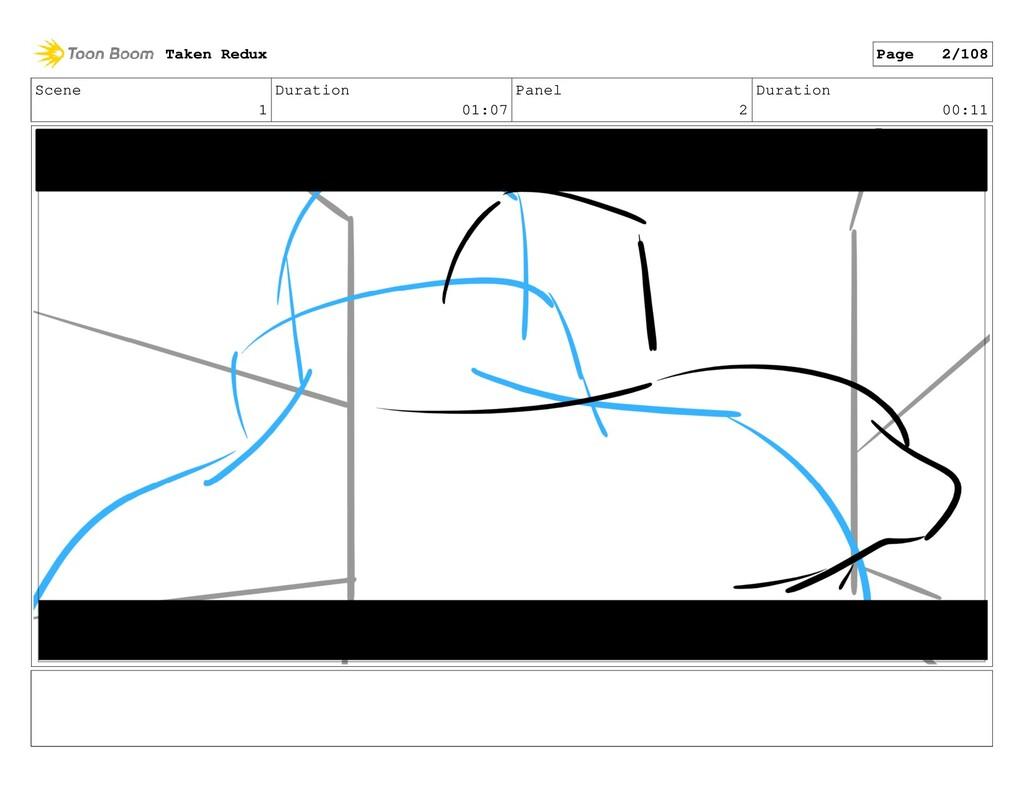 Scene 1 Duration 01:07 Panel 2 Duration 00:11 T...