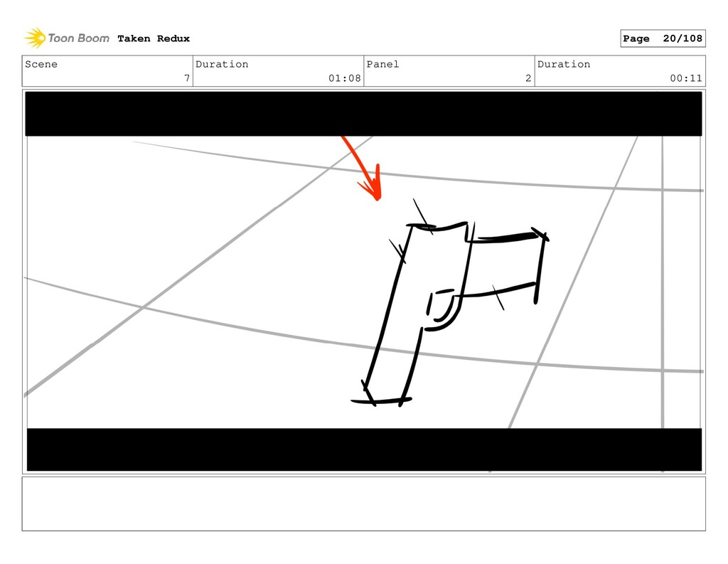 Scene 7 Duration 01:08 Panel 2 Duration 00:11 T...