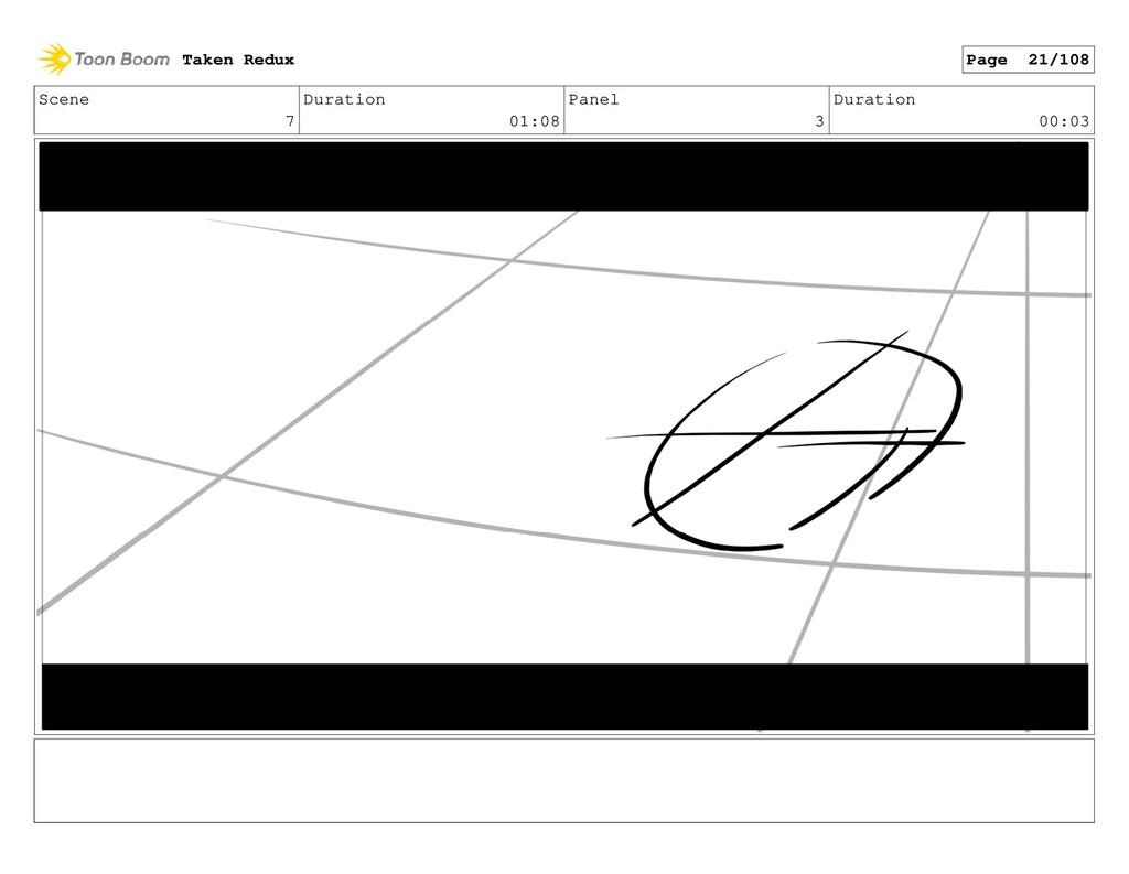 Scene 7 Duration 01:08 Panel 3 Duration 00:03 T...