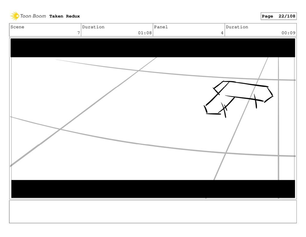Scene 7 Duration 01:08 Panel 4 Duration 00:09 T...