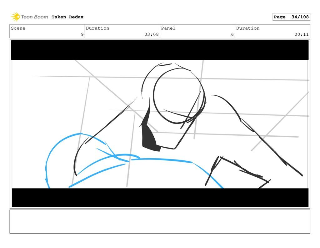Scene 9 Duration 03:08 Panel 6 Duration 00:11 T...