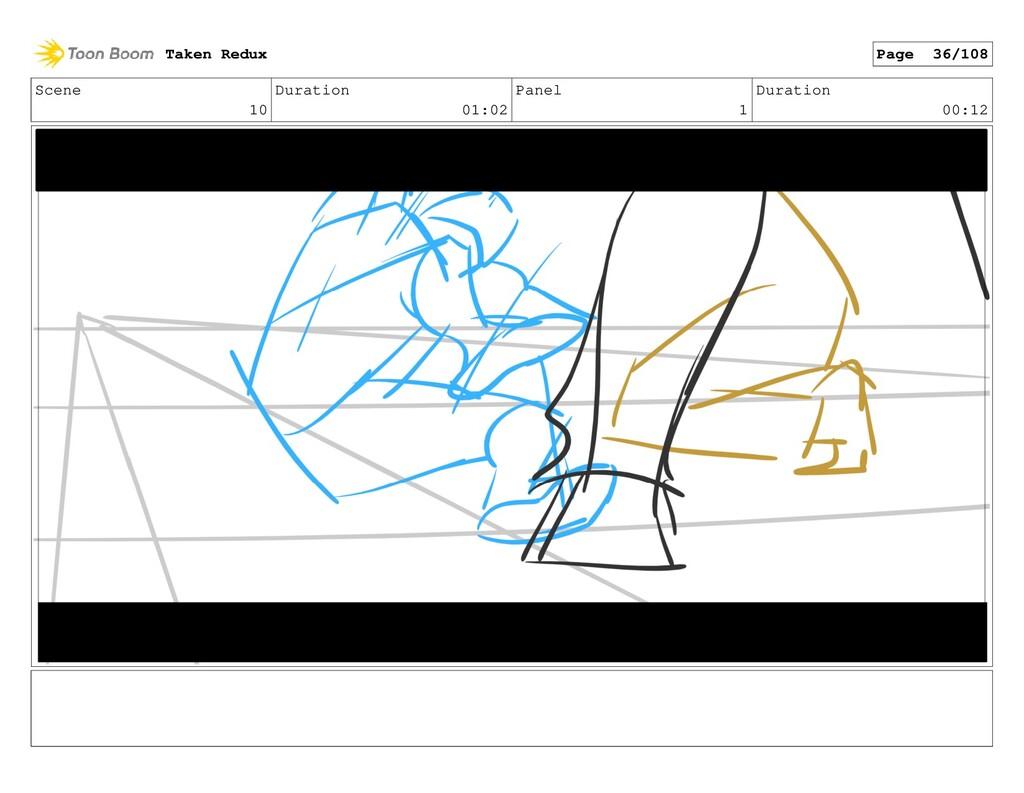 Scene 10 Duration 01:02 Panel 1 Duration 00:12 ...