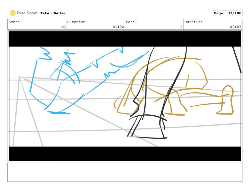 Scene 10 Duration 01:02 Panel 2 Duration 00:07 ...