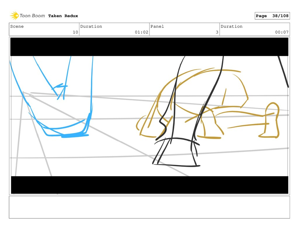 Scene 10 Duration 01:02 Panel 3 Duration 00:07 ...