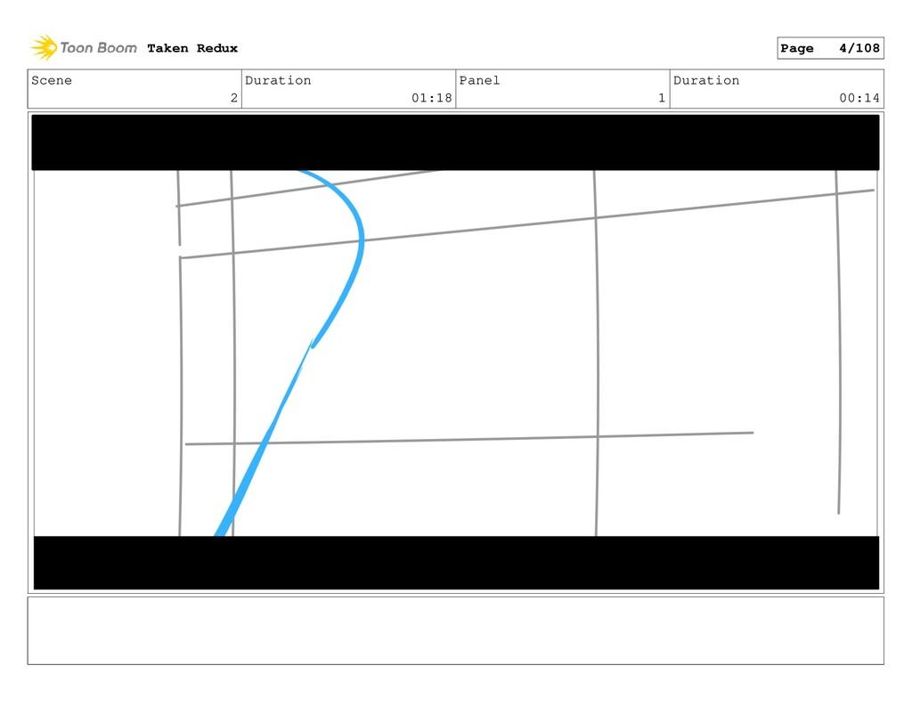 Scene 2 Duration 01:18 Panel 1 Duration 00:14 T...