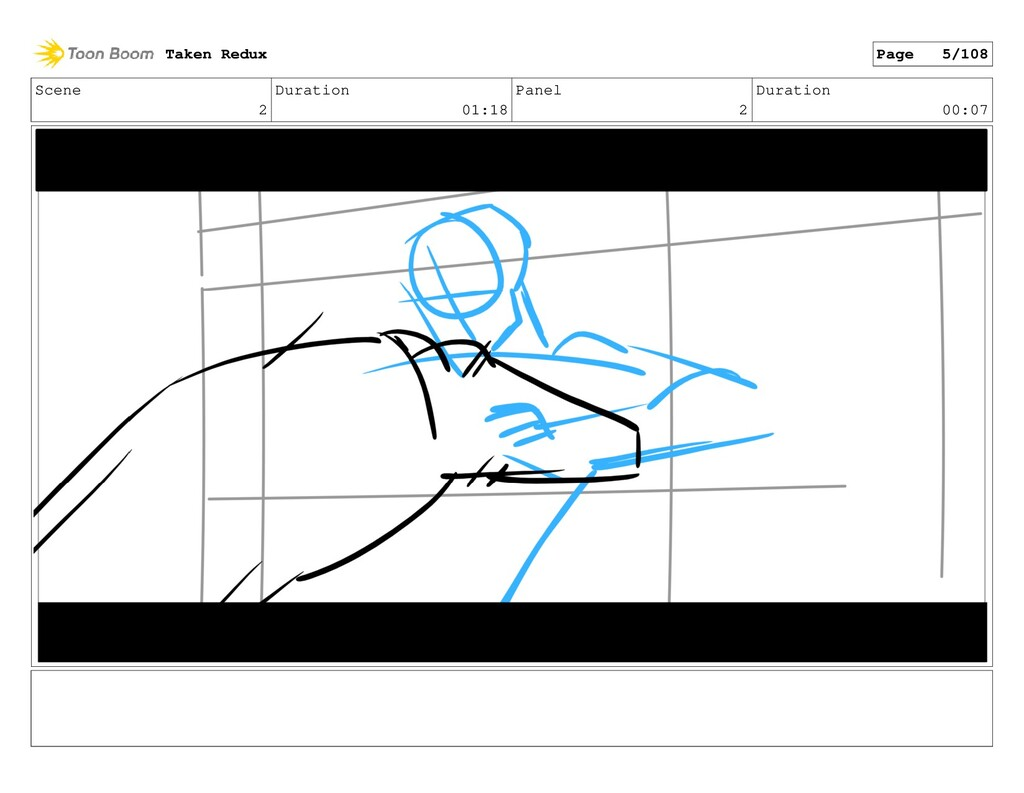 Scene 2 Duration 01:18 Panel 2 Duration 00:07 T...
