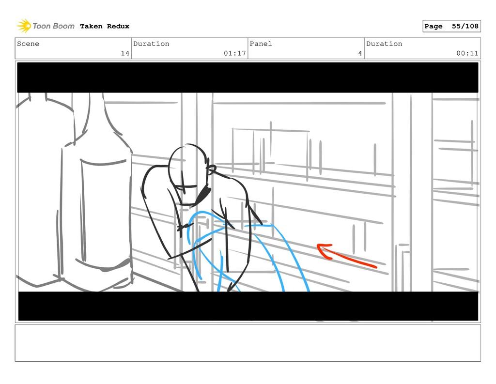 Scene 14 Duration 01:17 Panel 4 Duration 00:11 ...