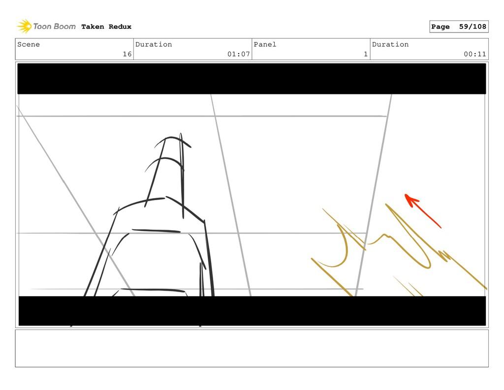 Scene 16 Duration 01:07 Panel 1 Duration 00:11 ...