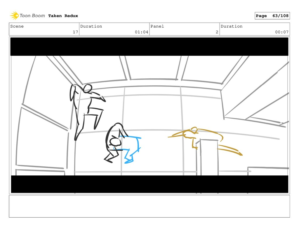 Scene 17 Duration 01:04 Panel 2 Duration 00:07 ...