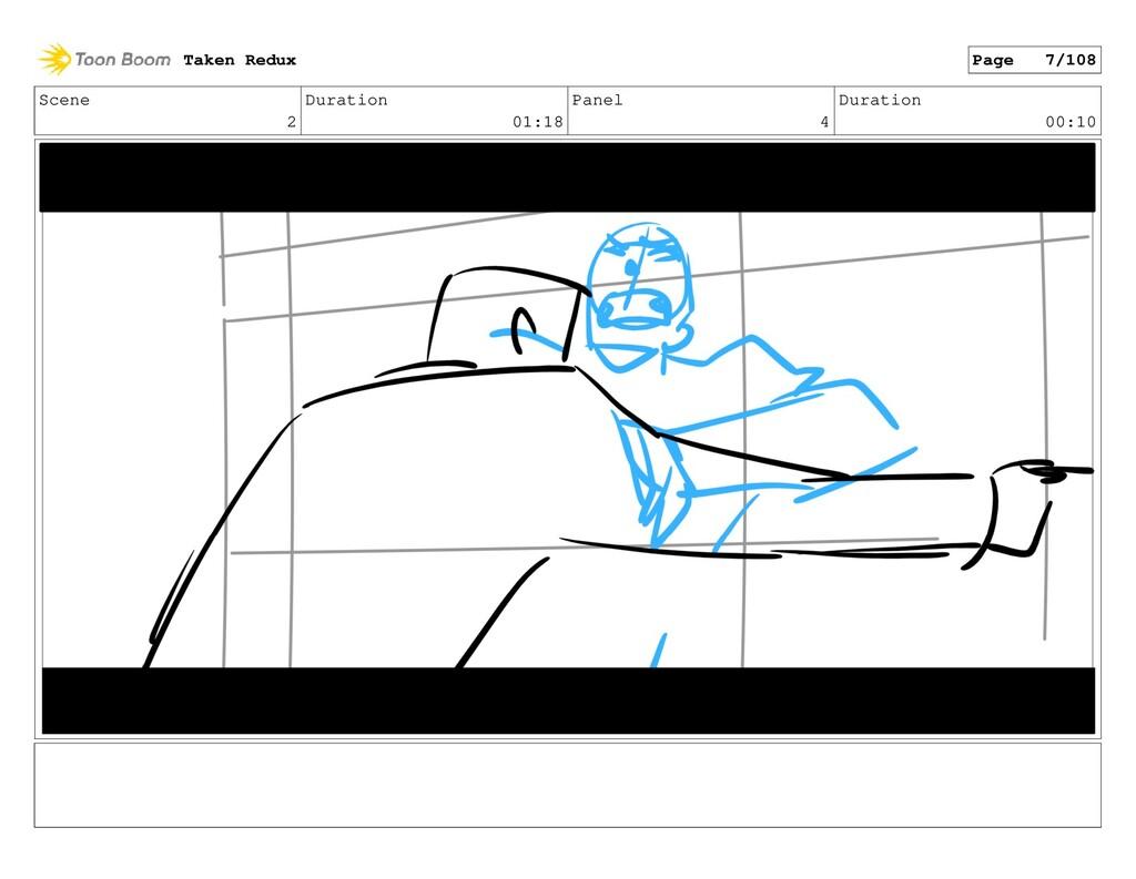 Scene 2 Duration 01:18 Panel 4 Duration 00:10 T...