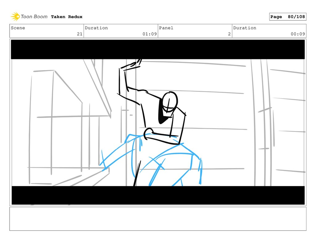 Scene 21 Duration 01:09 Panel 2 Duration 00:09 ...