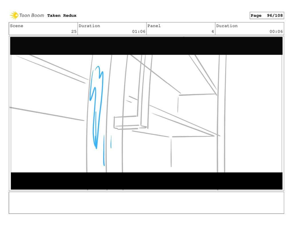 Scene 25 Duration 01:06 Panel 4 Duration 00:06 ...