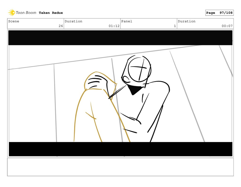 Scene 26 Duration 01:12 Panel 1 Duration 00:07 ...