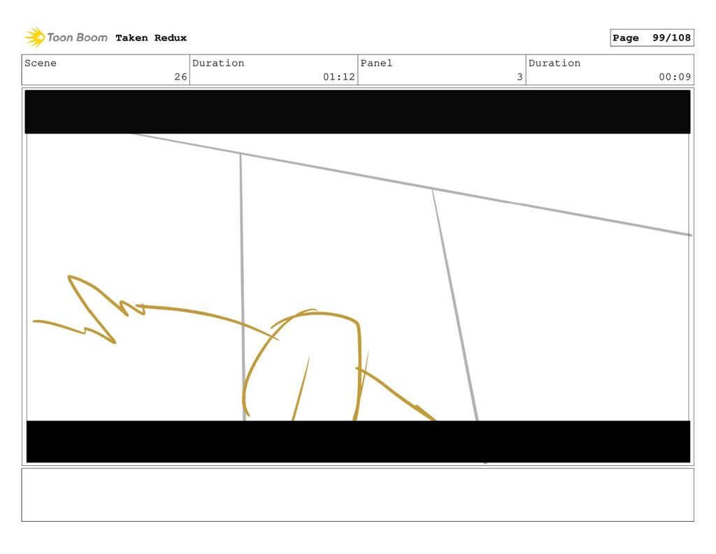 Scene 26 Duration 01:12 Panel 3 Duration 00:09 ...
