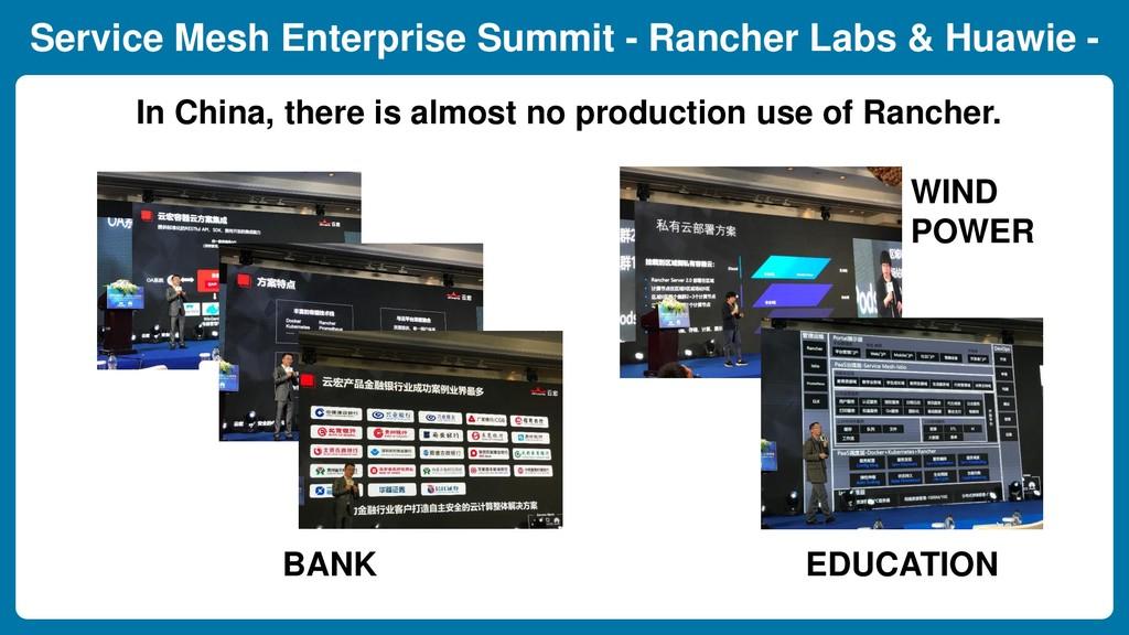 Service Mesh Enterprise Summit - Rancher Labs &...