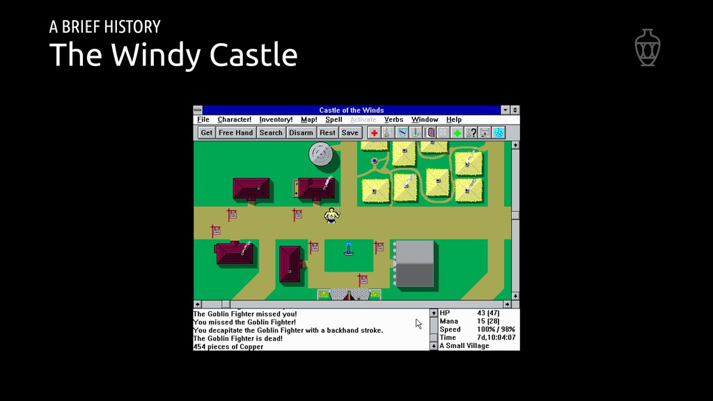 A BRIEF HISTORY The Windy Castle
