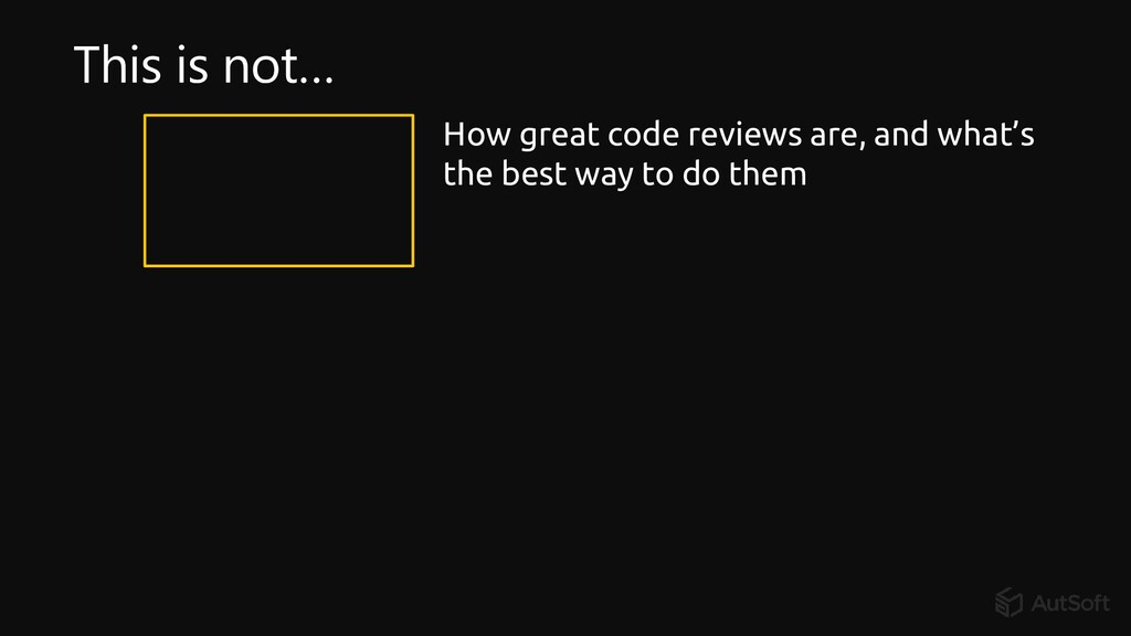 How great code reviews are, and what's the best...