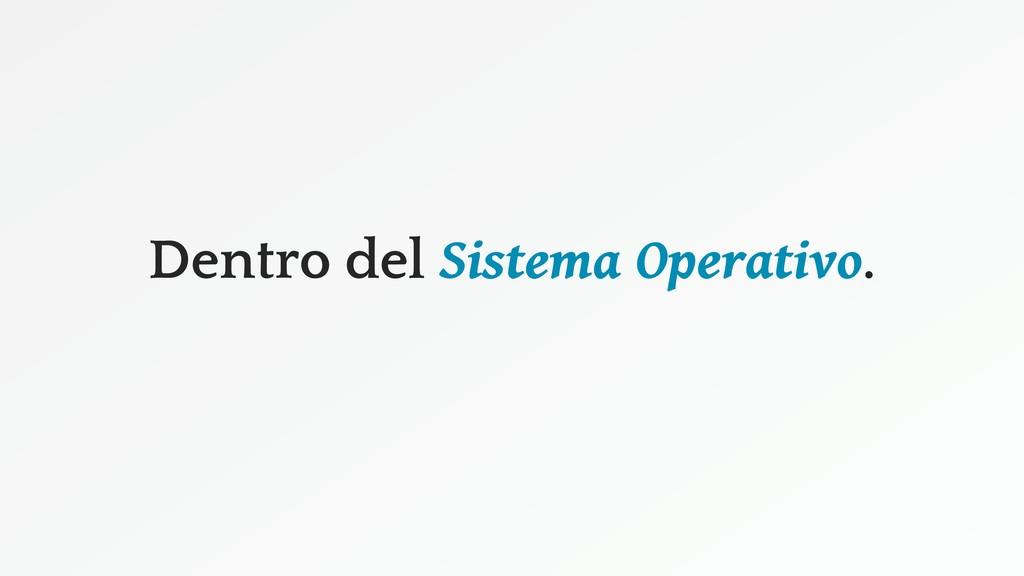 Dentro del Sistema Operativo.