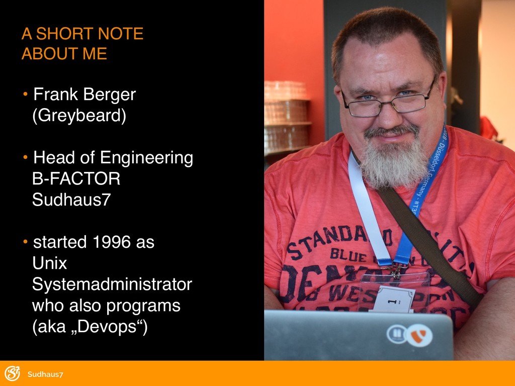 • Frank Berger (Greybeard) • Head of Engineerin...