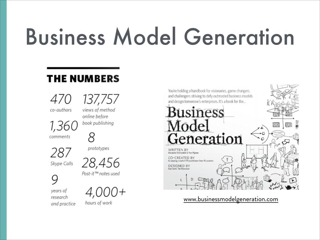 Business Model Generation www.businessmodelgene...