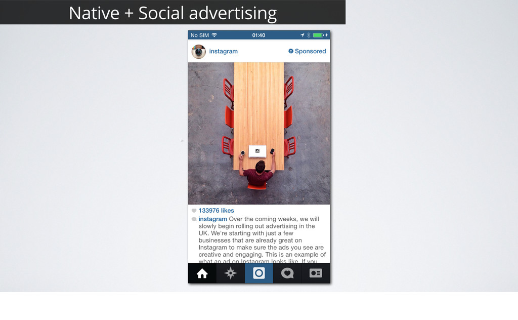 28 Native + Social advertising