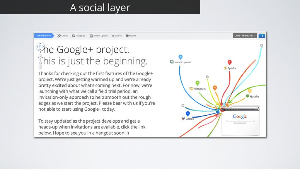 7 A social layer