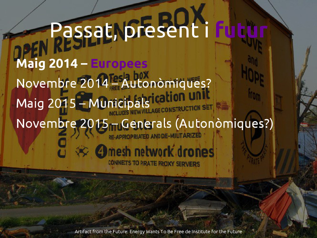 Passat, present i futur Maig 2014 – Europees No...
