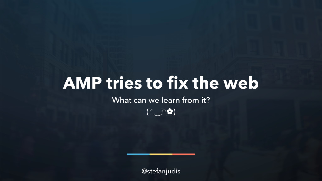 AMP tries to fix the web What can we learn from ...