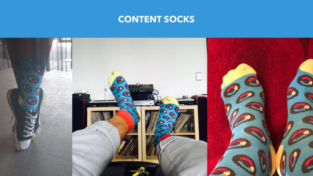 CONTENT SOCKS