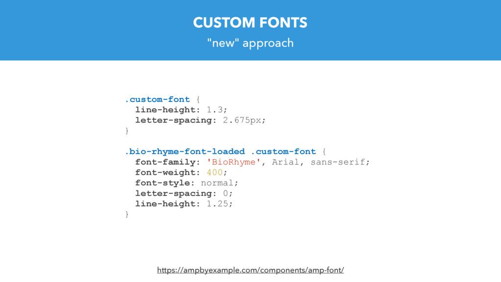 """new"" approach .custom-font { line-height: 1.3;..."