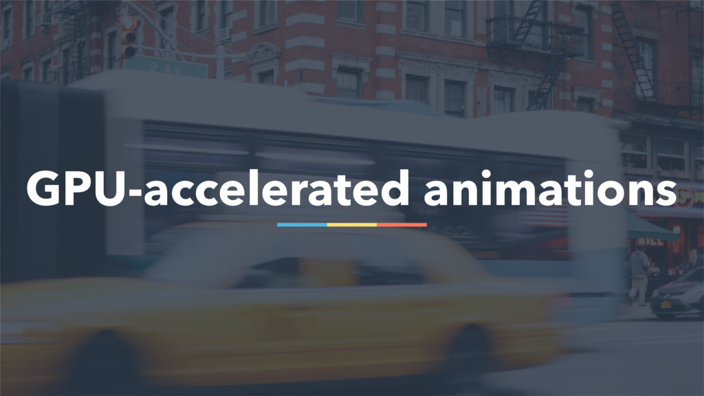 85 GPU-accelerated animations