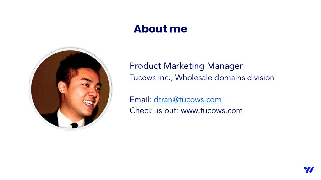 Product Marketing Manager Tucows Inc., Wholesal...