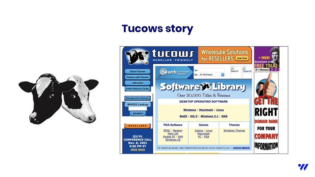 Tucows story