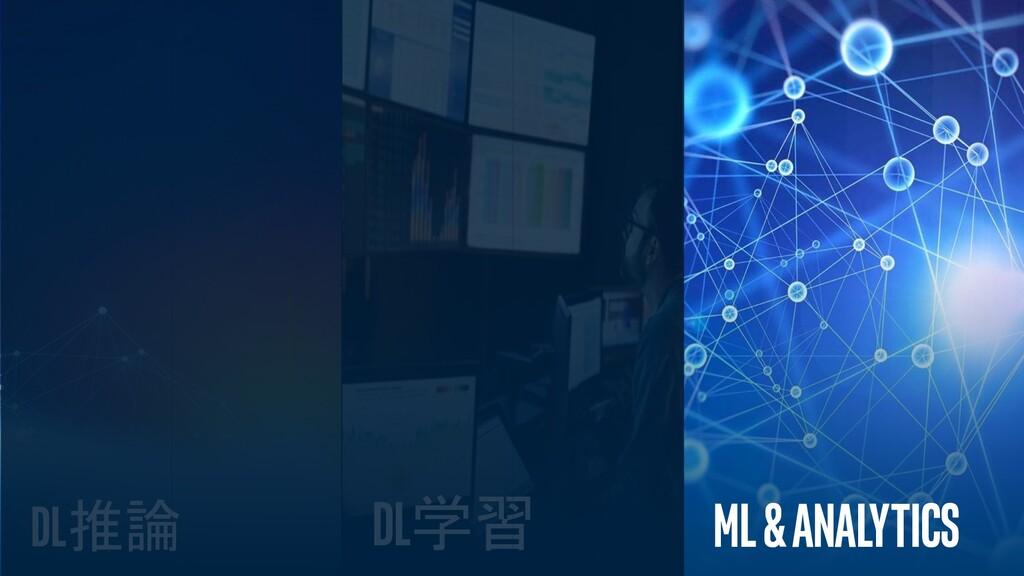 インテル株式会社 30 ML& AnALytics DL学習 DL推論