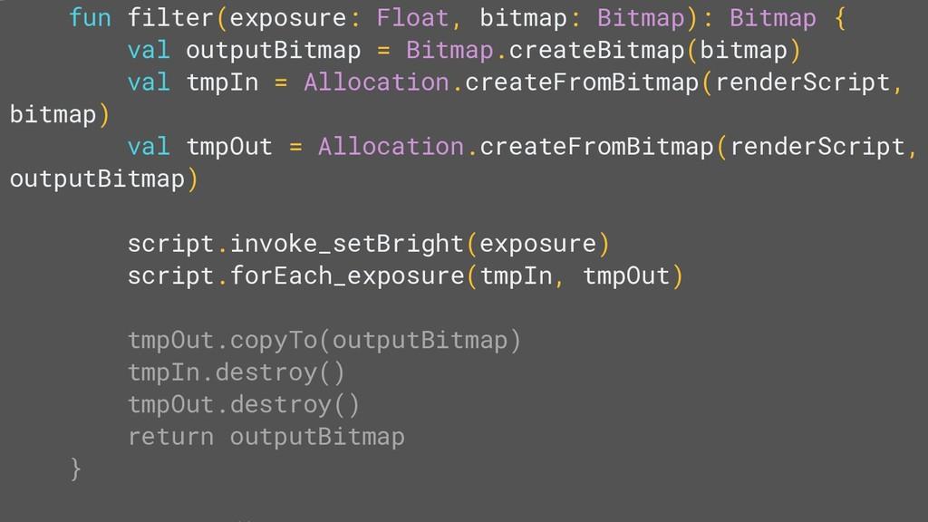 fun filter(exposure: Float, bitmap: Bitmap): Bi...