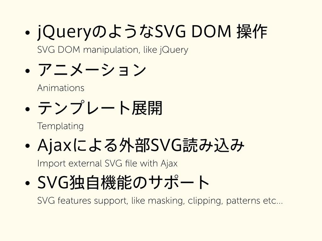 • K2VFSZͷΑ͏ͳ47(%0.ૢ࡞ SVG DOM manipulation, l...