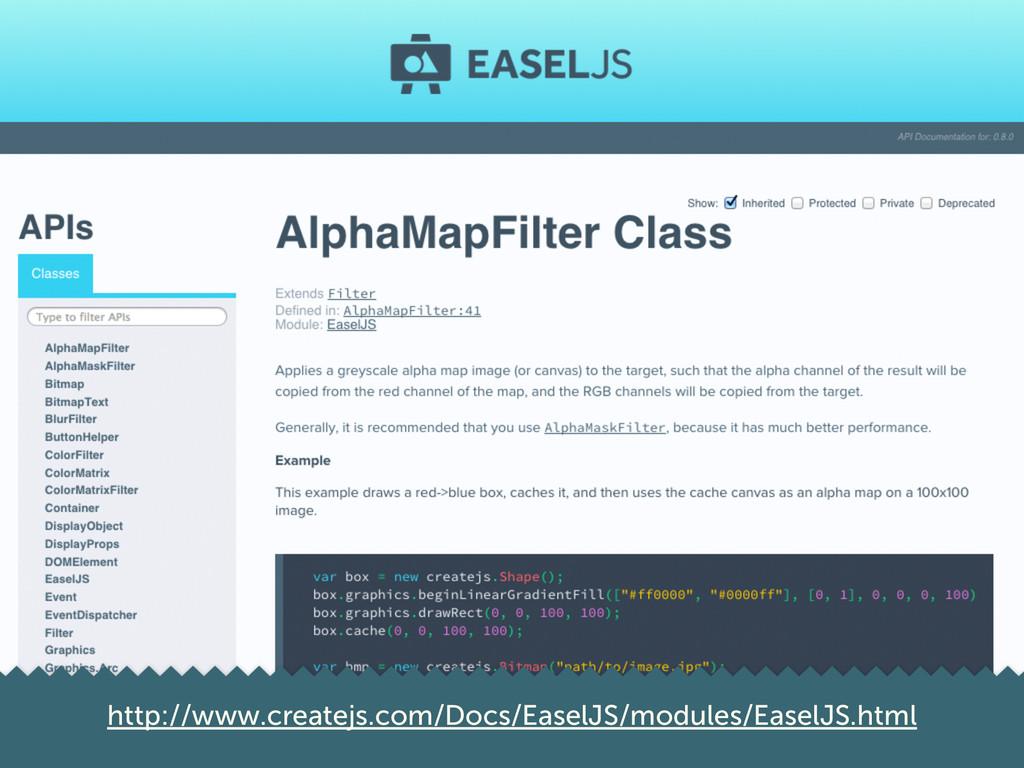 http://www.createjs.com/Docs/EaselJS/modules/Ea...