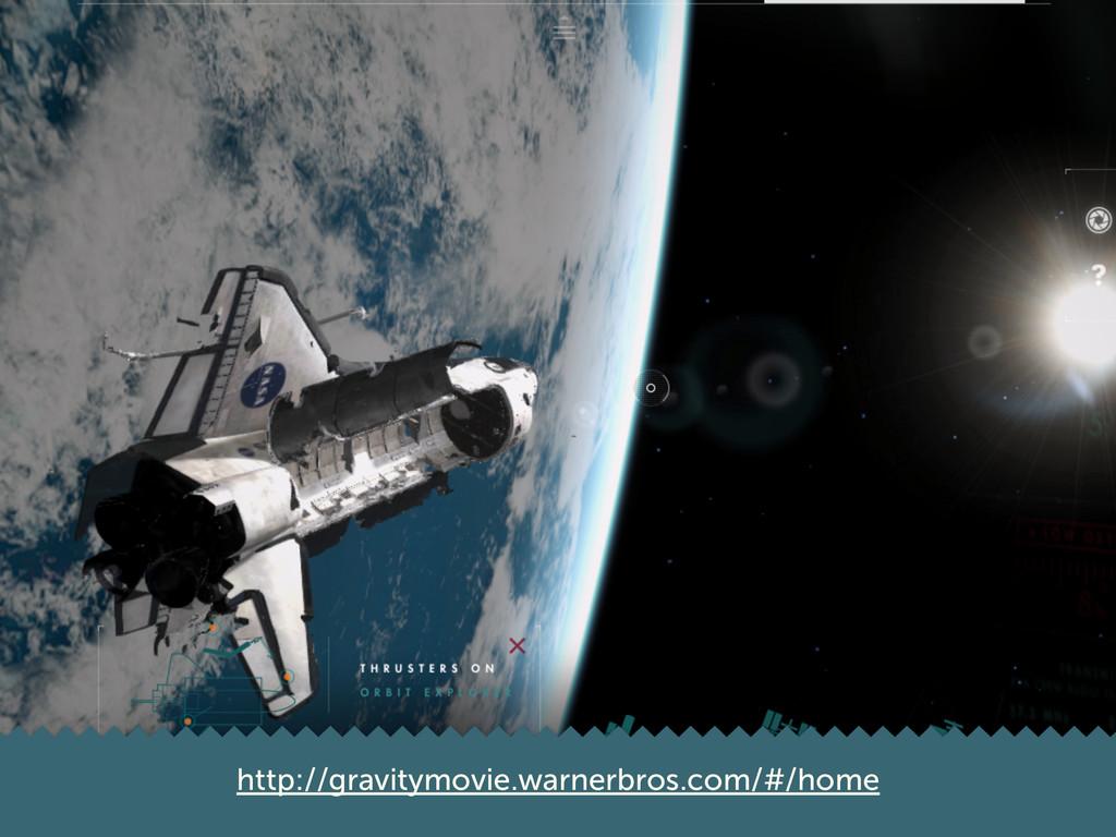 http://gravitymovie.warnerbros.com/#/home