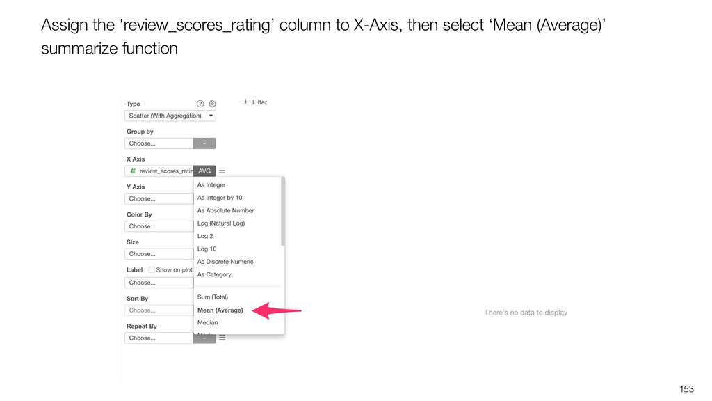 153 Assign the 'review_scores_rating' column to...