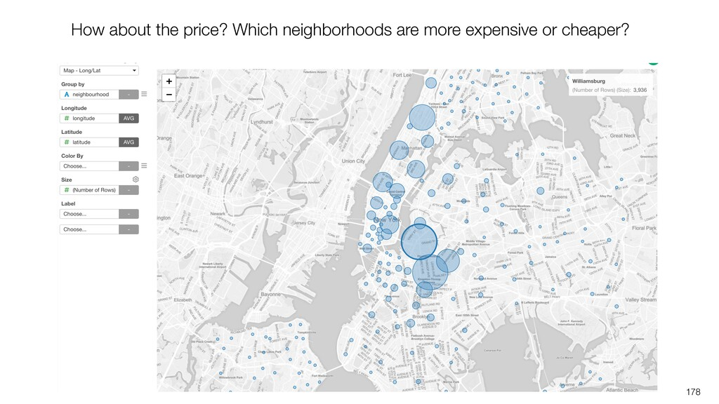 178 How about the price? Which neighborhoods ar...