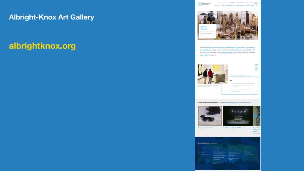 Albright-Knox Art Gallery albrightknox.org